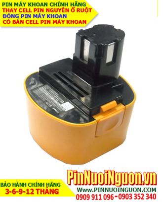 Pin sạc 9.6v-2000mAh; Pin máy khoan tay National 9.6v-2000mAh _Thay CELL pin máy khoan National 9.6v-2000mAh
