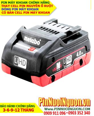 Pin sạc 18v-4000mAh; Pin máy khoan Metabo 18v-4000mAh (4.0AH) lithium _Thay CELL pin máy khoan Metabo 18v-4000mAh