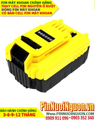 Pin sạc 18v 5000mAh (5.0AH); Pin máy khoan Stanley 18v 5000mAh (5.0AH) _Thay CELL pin máy khoan Stanley 18v 5000mAh (5.0AH)