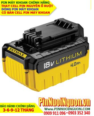 Pin sạc 18v-4000mAh(4.0AH); Pin máy khoan Stanley 18v-4000mAh(4.0AH) _Thay CELL pin máy khoan Stanely 18v-4000mAh(4.0AH)