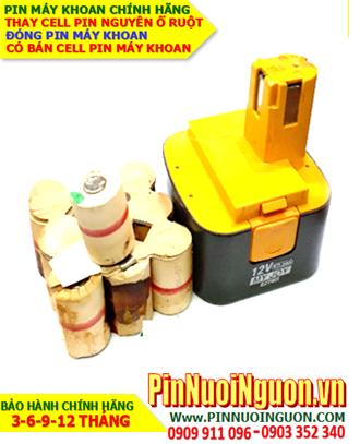 Pin máy khoan MyJoy 12v-2000mAh, Thay cell pin máy khoan tay MyJoy 12v các loại | Bảo hành 6 tháng