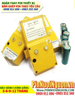 Pin máy trắc địa Topcon NB-28, Thay cell pin máy trắc địa Topcon NB-28 chính hãng   Hàng có sẳn - Bảo hành 6 tháng