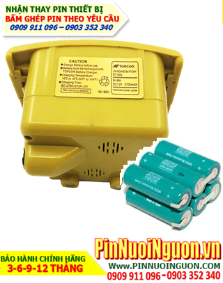 Pin máy trắc địa Topcon BT-50Q, Thay Pin máy trắc địa Topcon BT-50Q  hàng có sẳn-Bảo hành 06 tháng