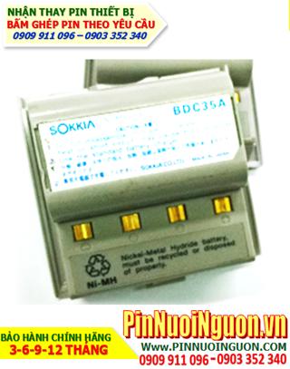 Pin máy Sokia DBC 35A, Pin sạc NiMh 6v 2500mAh cho máy trắc địa đo đạc Sokia DBC35A | Bảo hành 6 tháng - Có sẳn hàng