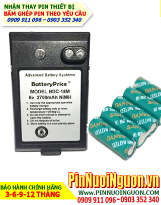 Pin máy trắc địa Sokkia BDC-18, Thay Pin máy trắc địa Sokkia BDC-18 | hàng có sẳn-Bảo hành 06 tháng