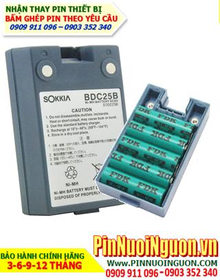 Pin máy trắc địa Sokkia BDC-25, Thay Pin máy trắc địa Sokkia BDC-25 | hàng có sẳn-Bảo hành 06 tháng