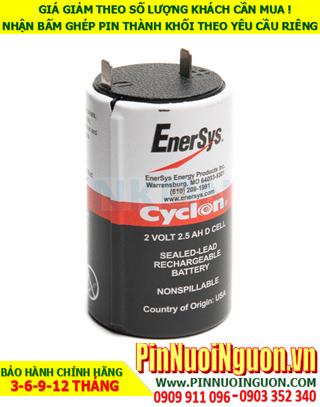 Pin EnerSys Cyclon Sealed Lead Acid 2v - 2.5AH chính hãng Made in USA | hàng có sẳn