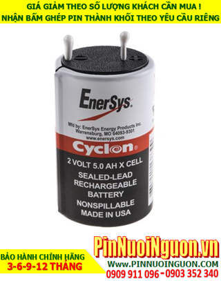 Pin EnerSys Cyclon Sealed Lead Acid 2V-5.0AH chính hãng nhập khẩu từ USA | hàng có sẳn