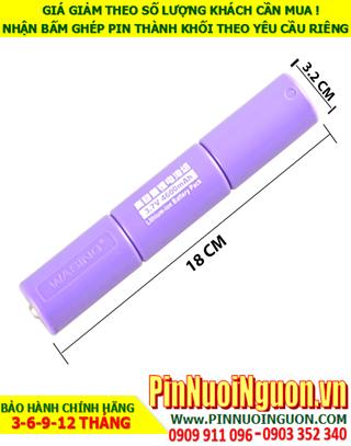 Pin sạc 3.7v 4600mAh; Pin sạc Wasing 3.7v 4600mAh _Thay pin Đèn pin Wasing chính hãng