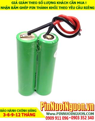 Pin sạc 7.4v-2500mAh; Pin sạc Lithium Li-ion 7.4v-2500mAh chính hãng | HÀNG CÓ SẲN
