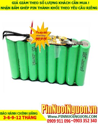 Pin sạc lithium 14.8v-5000mAh; Pin sạc Lithium Li-Ion 14.8v-18650-5000mAh chính hãng| HÀNG CÓ SẲN