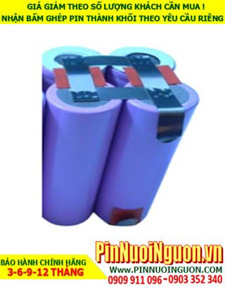 Pin sạc lithium 14.8v-3000mAh; Pin sạc khối Lithium Li-ion 14.8v-18650-3000mAh chính hãng  HÀNG CÓ SẲN