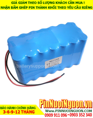 Pin sạc  Lithium 24v-10200mAh; Pin sạc khối Lithium 24v-18650-10200mAh chính hãng  HÀNG CÓ SẲN