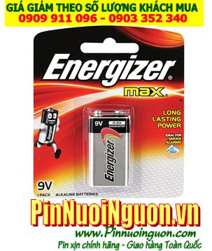 Pin Alkaline 9v Energizer 522-BP1 chính hãng Made in Malaysia (Vỉ 1viên)  ĐANG CÒN HÀNG