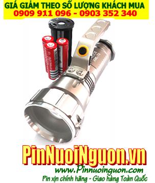Đèn pin Pha quai cầm tay Police 114k với bóng XML-T6 CREELED | ĐANG CÒN HÀNG