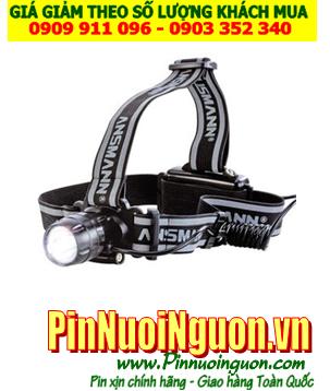 Đèn pin đội đầu siêu sáng Ansmann headlight HD3 chính hãng Ansmann Đức | hàng có sẳn-Bảo hành 3 năm