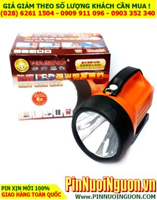 Đèn pin Pha cầm tay WASING WSL-827, bóng CREELED 10W với 1000Lumens, chống Shock, Chịu nước, Chống Cháy Nổ