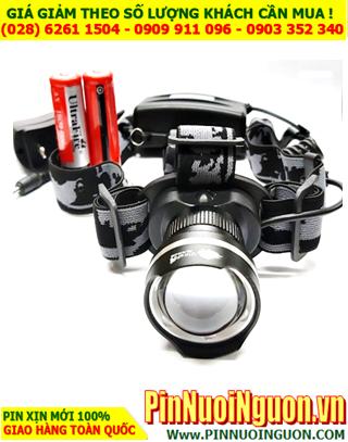 Đèn pin đội đầu siêu sáng HY-2155 bóng CREELED chính hãng | Bảo hành 6 tháng
