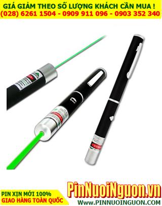 Bút Laser Xanh sử dụng pin sạcLithium Li-Ion  3.7v | Bảo hành 3 tháng - HÀNG CÓ SẲN