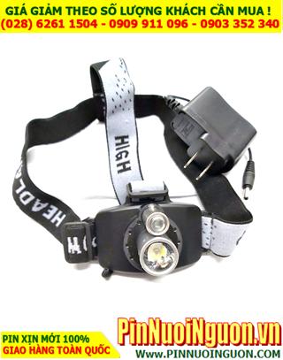 Đèn pin đội đầu siêu sáng SHENHANG SH-6652 với 02 bóng CREELED siêu sáng| CÒN HÀNG