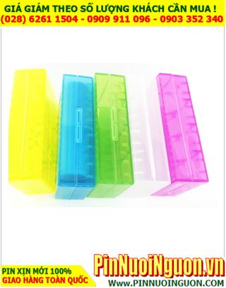 Hộp đựng pin, Hộp bảo vệ pin, hộp bảo vệ 1-2 pin 18650, 18490, 18500, 17500 | CÒN HÀNG