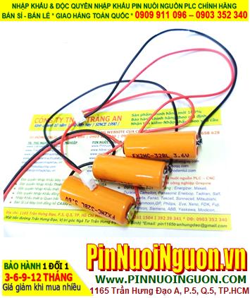 Pin FX2NC-32BL _Pin Mitsubishi FX2NC-32BL; Pin nuôi nguồn PLC Mitsubishi FX2NC-32BL 2/3AAA 450mAh chính hãng