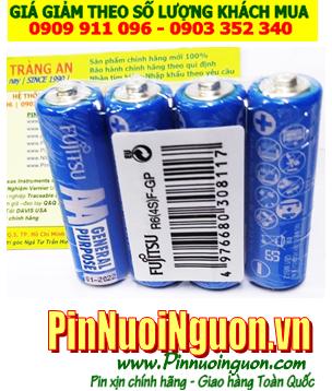 Pin R6(4S)F-GP _Pin tiểu AA 1.5v Fujitsu R6(4S)F-GP General Purpose Carbon Zin chính hãng_Vỉ 2 viên