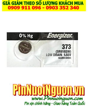 Pin SR916SW _Pin 373; Pin đồng hồ Energizer SR916SW 373 Silver Oxide 1.55v _Made in USA
