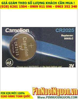 Pin CR2025 _Camelion CR2025; Pin 3v lithium Camelion CR2025 chính hãng