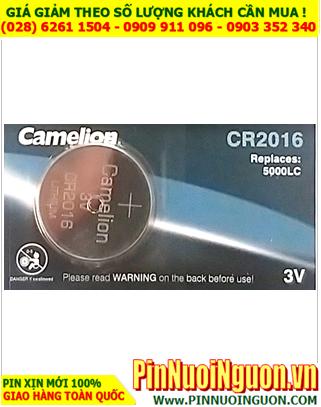 Pin CR2016 _Pin Camelion CR2016; Pin 3v Lithium Camelion CR2016 chính hãng