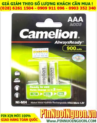 Camelion NH-AA900ARBP2; Pin sạc AAA 1.2v Camelion NH-AA900ARBP2 AlwaysReady _Vỉ 2viên