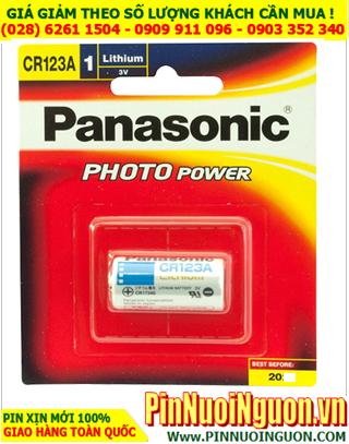 Panasonic CR123A; Pin lithium 3.0v Panasonic CR123A,CR-123AW/C1B PhotoPower