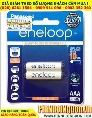 Eneloop BK-4MCCE/2BT; Pin sạc AAA 800mAh 1.2v Panasonic Eneloop BK-4MCCE/2BT _Japan