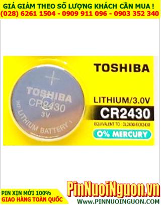 Pin CR2430 _Pin Toshiba CR2430; Pin 3v lithium Toshiba CR2430 chính hãng