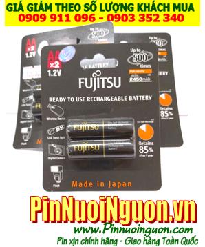 Pin Fujitsu HR-3UTHCEX(2B); Pin sạc AA 1.2v Fujitsu HR-3UTHCEX(2B) (AA2450mAh)_Made in Japan_Vỉ 2viên| Có Hàng sẵn