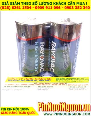 Pin Rayovac LR20; Pin Alkaline 1.5v D Rayovac LR20 chính hãng _Xuất xứ Mỹ _Giá/ 2viên