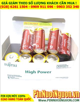 COMBO 1 1HỘP (5cặp=10viên) Pin đại D 1.5v Alkaline HIGH POWER Fujitsu LR20F(2S) Japan _Giá chỉ 795.000/hộp 10Viên