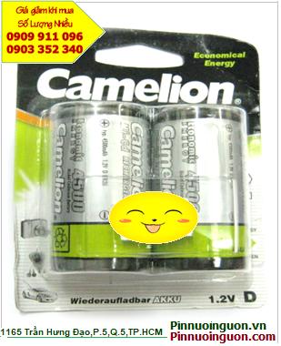Camelion NH-D5000BP2; Pin sạc D 1.2v Camelion NH-D5000BP2 (D5000mAh) _LD Đức-China _Vỉ 2viên| HẾT HÀNG