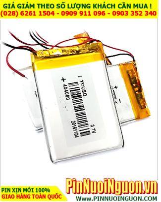Pin sạc 3,7V Li-Polymer 404060 (4.0mmx40mmx60mm) - 950mAh có mạch sẳn | TẠM HẾT HÀNG