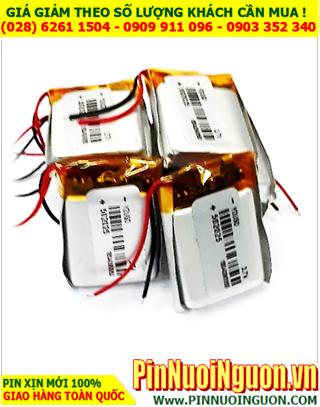 Pin sạc 3.7v Li-polymer 502025 (5.0mmx20mmx25mm) với 180mAh có mạch sẳn | ĐANG CÒN HÀNG