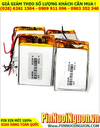 Pin sạc 3.7v Li-Polymer 402535 (4.0mmx25mmx35mm) với 320mAh  có mạch sẳn| ĐANG CÒN HÀNG