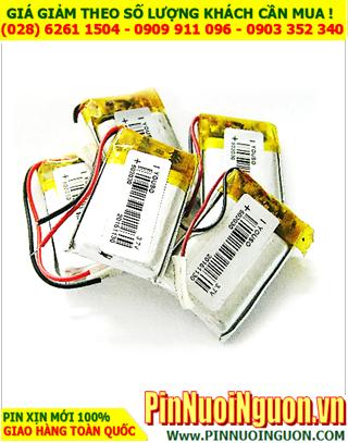 Pin sạc 3,7v Lithium Li-Polymer 502030 - 300mAh (5.0mmx20mmx30mm) có mạch sẳn | ĐANG CÒN HÀNG