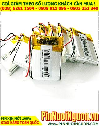 Pin sạc 3,7v Lithium Li-Polymer 502730 (5.0mmx27mmx30mm)- 405mAh | TẠM HẾT HÀNG