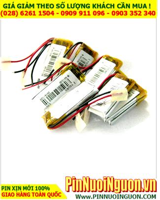 Pin sạc 3,7v Lithium Li-polymer 401230 - 120mAh (4.0mmx12mmx30mm) có mạch sẳn| ĐANG CÒN HÀNG