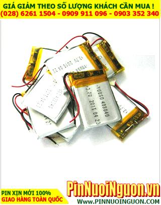 Pin sạc 3,7v Lithium Li-Polymer 403040 - 480mAh (4.0mmx30mmx40mm) có mạch sẳn| TẠM HẾT HÀNG