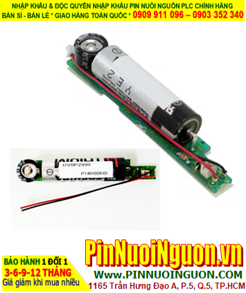 Panasonic DV0P2990; Pin nuôi nguồn PLC Panasonic DV0P2990 Battery for Absolute Encoder _Japan