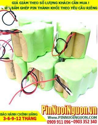 Pin sạc 7.2v SC3900mAh; Pin sạc NiMh NiCd 7.2v SC3900mAh; Pin sạc khối 7.2v SC3900mAh; Pin sạc công nghiệp 7.2v SC3900mAh