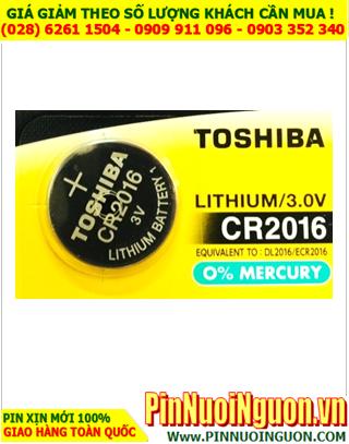 Pin CR2016 _Pin Toshiba CR2016; Pin 3v lithium Toshiba CR2016 chính hãng