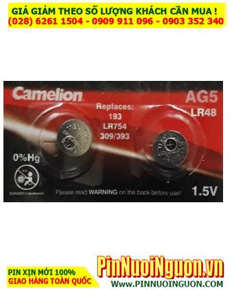 Pin AG5 LR754 -Pin cúc áo 1.5v Alkaline Camelion AG5 LR754 _1viên  HẾT HÀNG