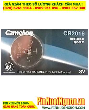 Pin CR2016 _Pin Camelion CR2016 Lithium 3v _Giá chỉ 29.000vnd/ Vỉ 5viên